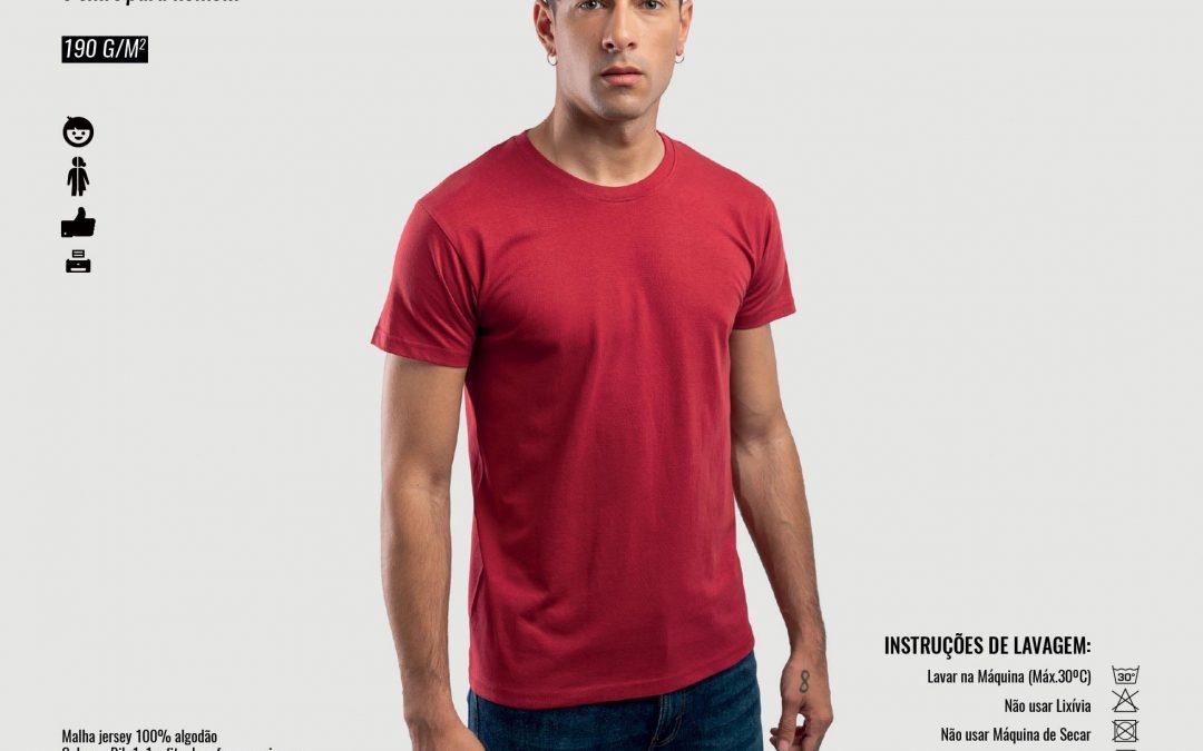 T-Shirt Homem Ankara